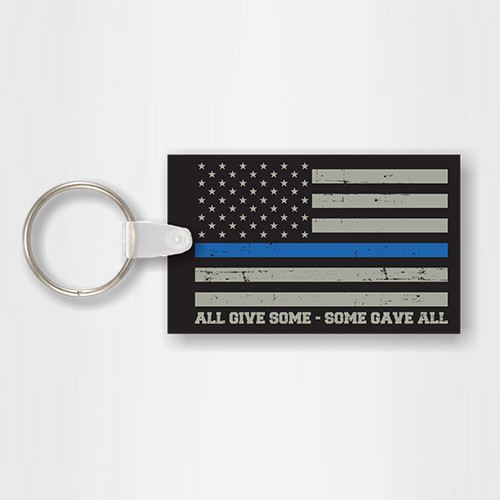 """Some Gave All"" Key Chain"